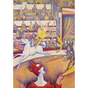 Coloriage Cirque Seurat.Puzzle Le Cirque Seurat K661166 Papeterie Des 2 Ponts